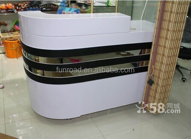 Modern Design Shopping Display Showcase Checkout Counter For Shop ...