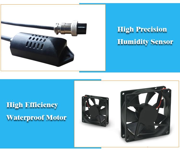 Ultrasone mist maker fogger 10 hoofd industriële luchtbevochtiger