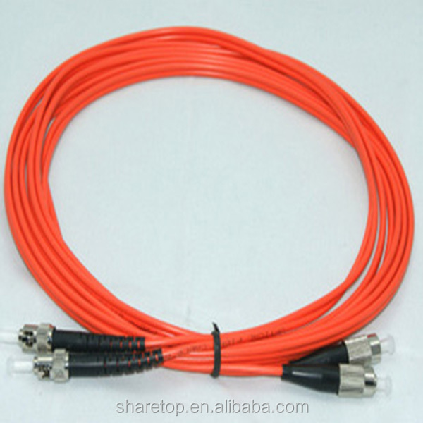 850nm 50/125um, 62.5/125um FC SC LC Connector Multi-mode Fiber Optic Patch cord 1m Duplex