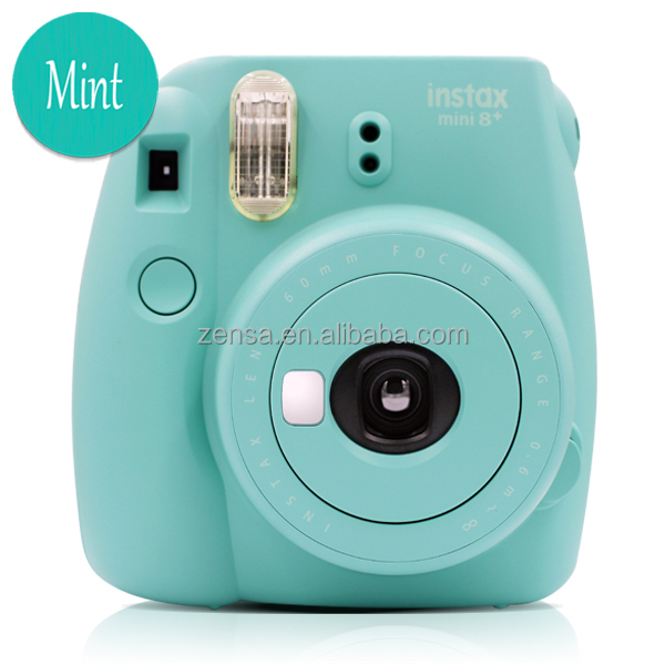 fuji fujifilm instax mini 8 plus instant polaroid photo film camera mint buy fujifilm instax. Black Bedroom Furniture Sets. Home Design Ideas