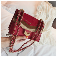 or10830h Korean style new design ladies fashion contrast color simple bag women small shoulder bags