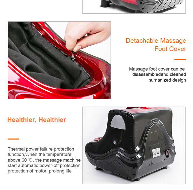 High quality new design leg beautician Foot Massager Electric leg exercise Machine