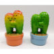 New arrival cactus design resin money box polyresin crafts money bank