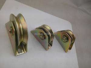 iron sliding gate roller pulley Steel Wheel