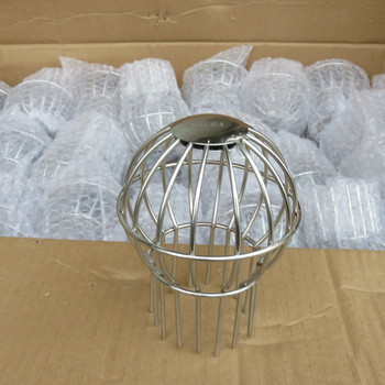 304 platform floor drain anti-blocking net roof falling bucket 75 tube outdoor floor drain Gutter pipe roofing net cover