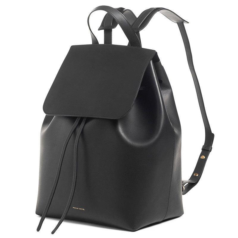 Get Quotations · 2015 New Mansur Gavriel Bag Women Luxury Genuine Leather Backpack  Designer Bucket Bag Famous Brand Drawstring 7365098b71b11