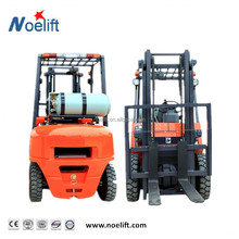 Industrial Vehicle 3000kgs 5 metros truck gasoline/gas forklift with a Pallet and Boxes