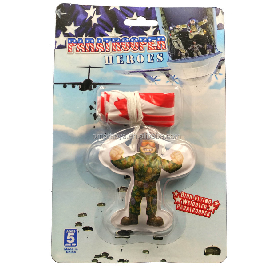hot sell mini Parachute man toy small and safe