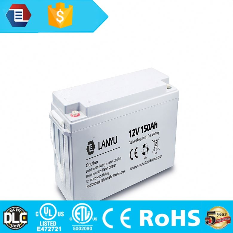 Good price GEL deep cycle 12V 100ah dry cell solar battery