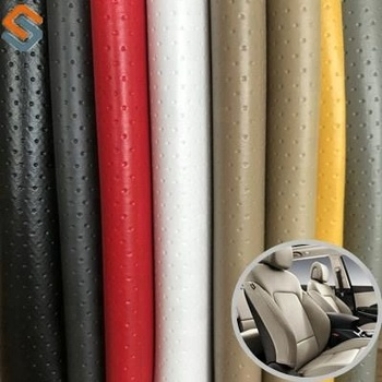 2018 New Pvc Leather For Car Seat Upholstery Fabric Vinyl