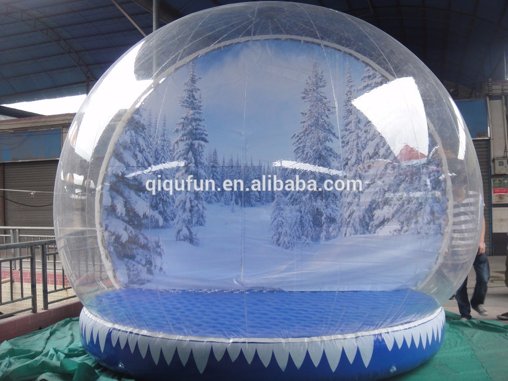 Toys & Hobbies outdoor or indoor used giant toy balls best sale Christmas inflatable snow globe