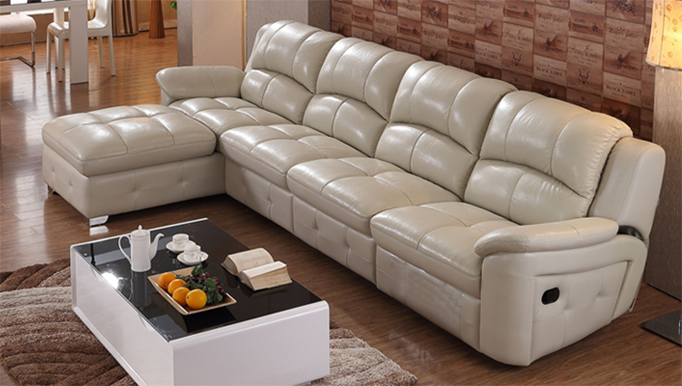 Excellent Wholesale Living Room Furniture Adjustable Backrest White Modern Design Genuine Leather Reclining Sofa Buy Reclining Sofa Leather Sofa Onthecornerstone Fun Painted Chair Ideas Images Onthecornerstoneorg