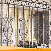 High Quality Security Window,Wrought Iron Window Grill Design