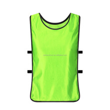 Most popular top quality custom reversible lacrosse soccer football training chest jerseys bibs youth scrimmage vest