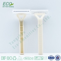 Biodegradable Airline razor is disposable razor