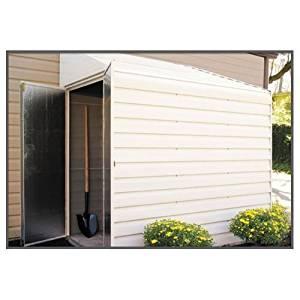 "Arrow Shed YS47 Yardsaver 4' x 7' Steel Eggsheel w/ 38.5"" x 60.25"" Door --P#EWT43 65234R3FA214841"