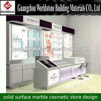 2012 new style cosmetic display stand