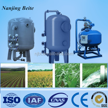 Industrial Activated Carbon Back Wash Steel Water Filter For Water ...