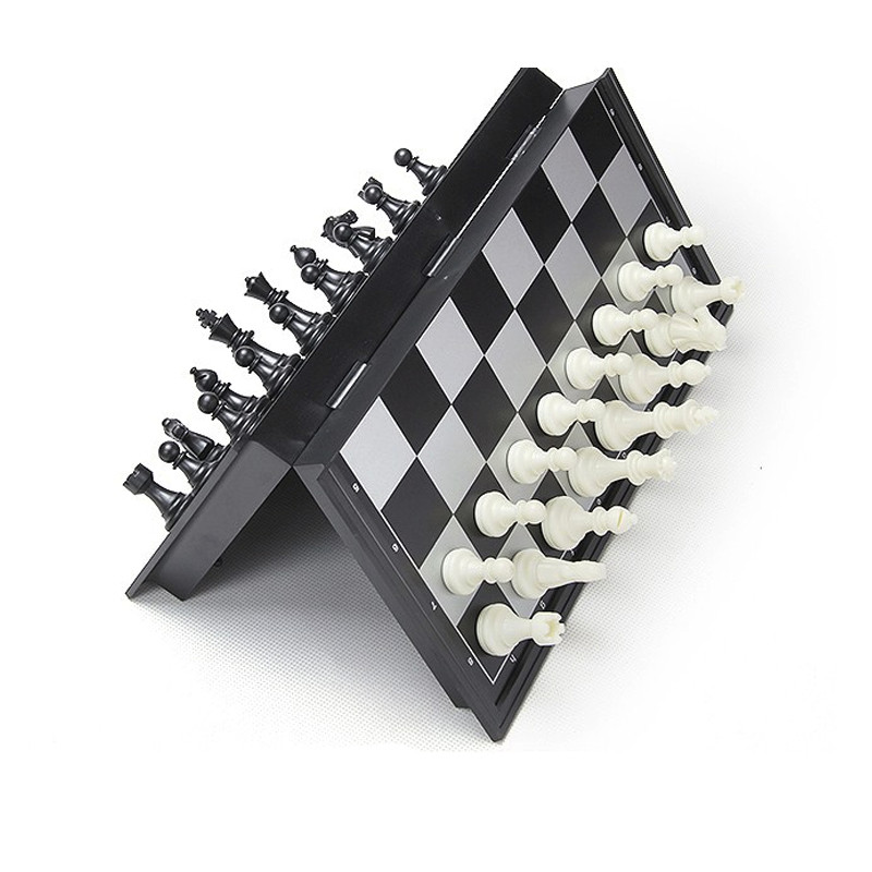 2016 poular Magnetic Chess Checkers Set game 3d Magnetic chess set