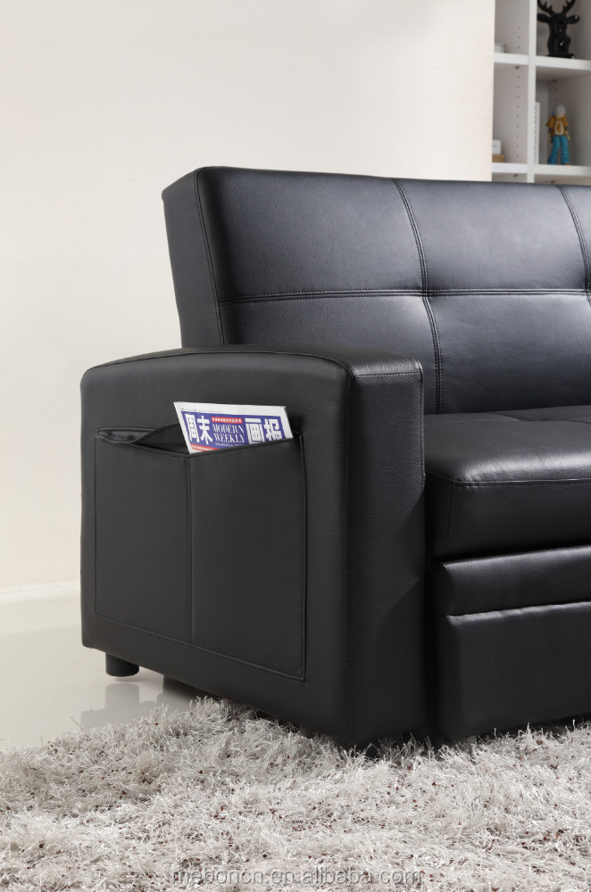 hot selling 2015 new design very cheap bounded leather sofa for promotion sofabed