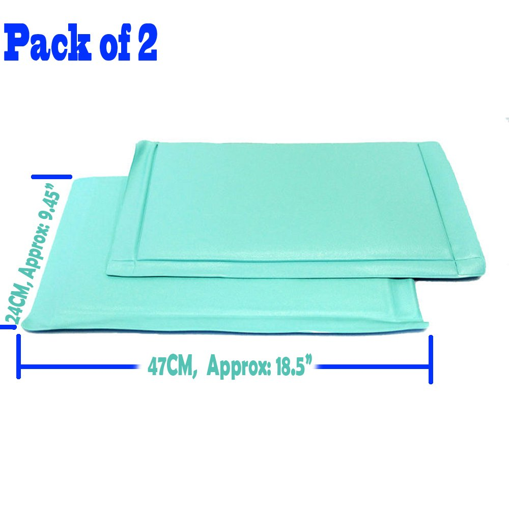 2X Anti-Frost Freezer Mat No Frost Anti Ice Soft Fridge Cushion No More Frost/Ice Buildup,Pack of 2, Caidishi