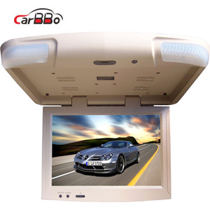 15.4 inch android bus/ car roof mounted flip down monitor