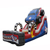newest design monster patriot truck inflatable slide/ dry slide for party
