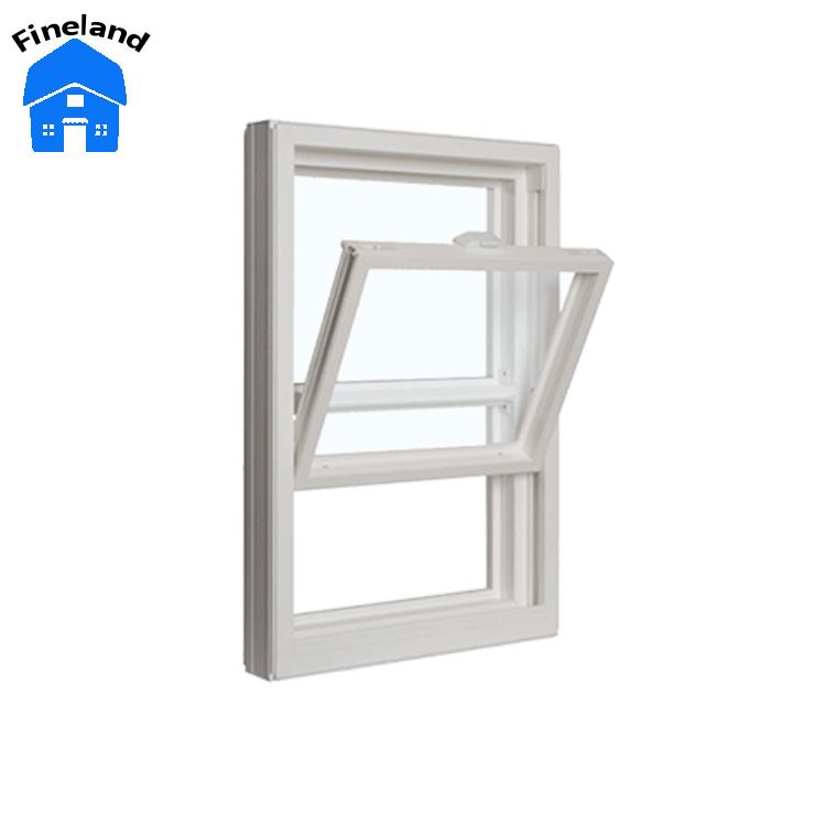 Aluminum Window Single Hung Roto Hardware Top