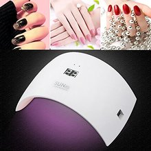 White SUN 9s 36w led uv gel lamp 36w uv led nail lamp with 30S,60S and sensor white light uv led light curing nail lamps