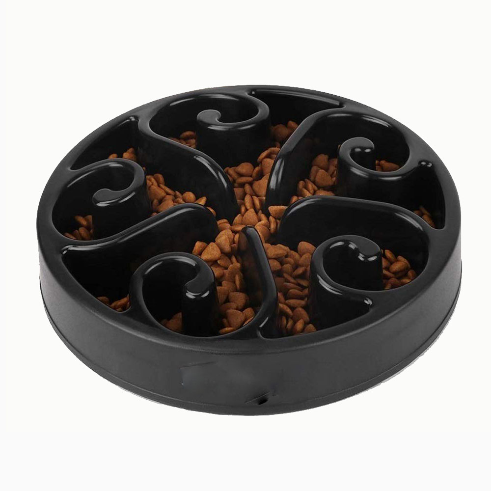 Slow Feeder Dog Bowl Bloat Stop Dog Food Maze Interactive Puzzle Non Skid Feeder
