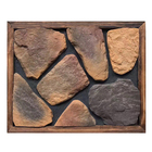 Hot products exterior wall decorative faux types of stone cladding