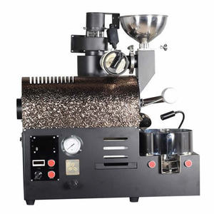 300g Stainless steel manual small coffee bakery machine 300g coffee roaster