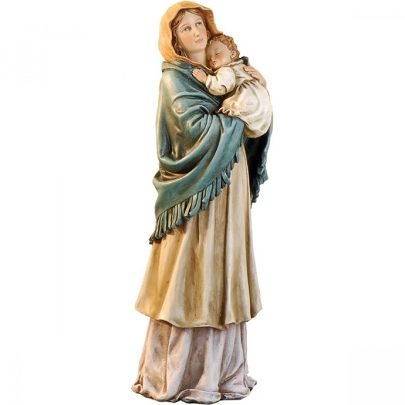 Church statue life size resin virgin mary statue