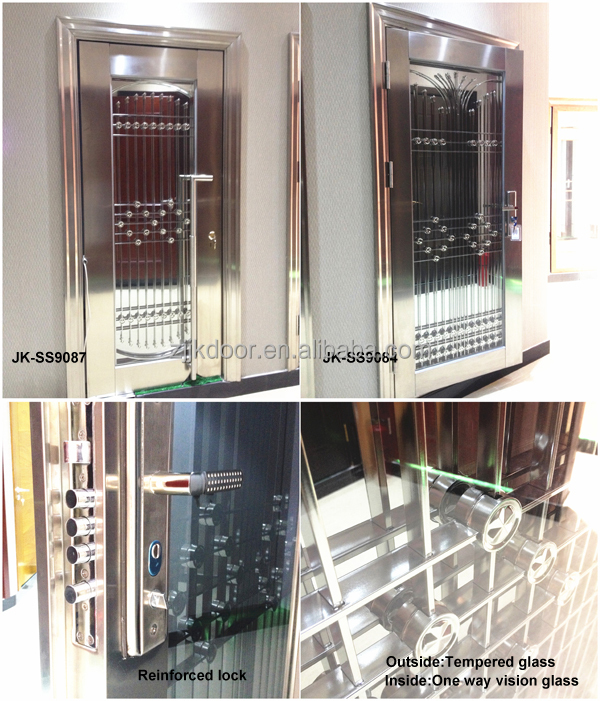 Jie Kai Ss9035 Stainless Steel Doors India / Stainless Steel Gate ...