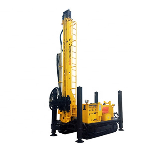 SWS400B Crawler Mounted Versatile Well Drilling Rig with high quality for sale
