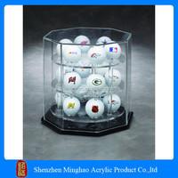 High quality acrylic material acrylic golf ball display case