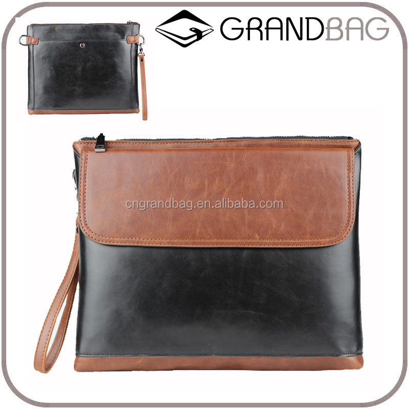 alibaba china supplier popular mens clutch bag wallet genuine leather purse