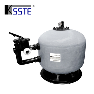 China supplier intex swimming pool water filtration system side mount fiberglass silica rapid sand filter tank