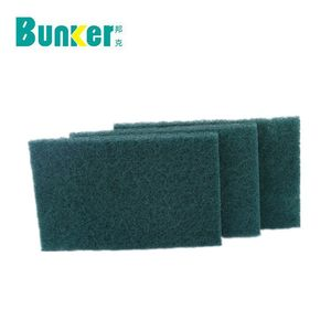 Hotsale Kitchen cleaning scrubber heavy duty Green Scouring Pads