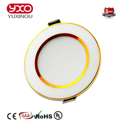 YXO Led Down Light 5W 7W 9W 12W 15W 18W 30W Dimmable LED Ceiling Recessed Grid Down Light/Slim Round LED Panel Spot Recess Light