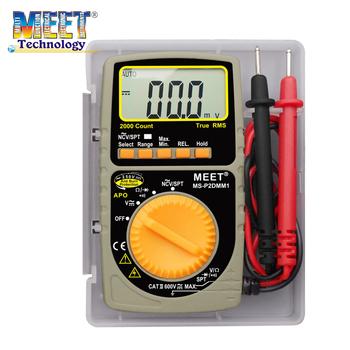 Ms-p2dmm1 Mini Auto Range Digital Multimeter With Protective Box - Buy  Digital Multimeter,Auto Range,Mini Auto Range Digital Multimeter Product on