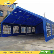 New design fashion low price polyester/PE steel canopy car wash