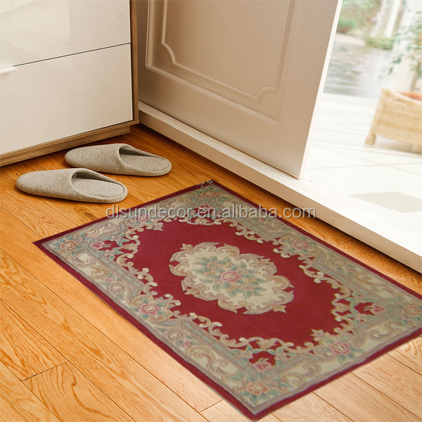 wholesale handtufted chinese wool door mat