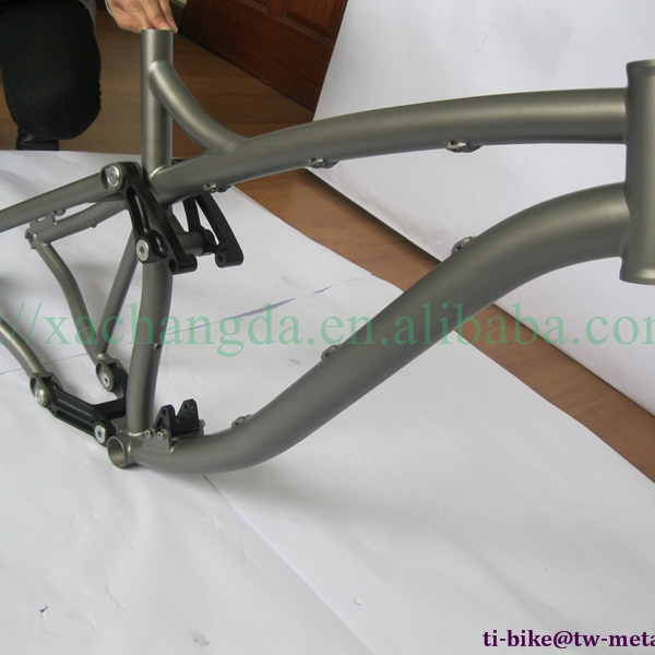 Oem Titanium Full Suspension Mtb Bike Frame Ti 29er Moutain ...