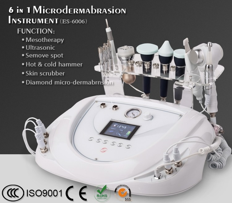 6in1 multi-function diamond microdermabrasion beauty equipment
