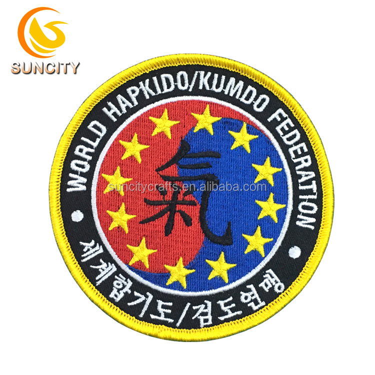 High Quality Latest Computer Embroidery Designs Clothing Patch Wholesale Cheap Custom Self-adhesive Embroidery