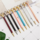 Diamond ball pen Yes Novelty and Metal Material logo pen