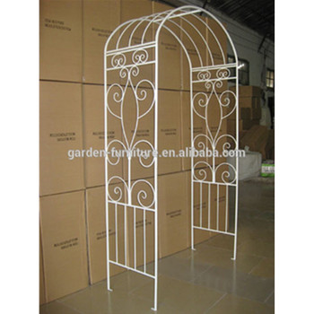 Outdoor Patio Furniture Decorative Paint White Cheap Outdoor Garden  Furniture,wedding Arches With Flowers,