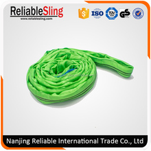 High Strength 2 Ton Round Sling Machine Roller Web Sling Type