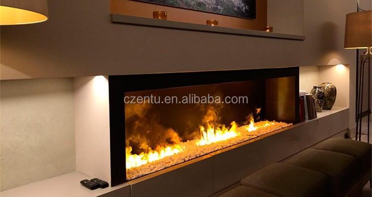 2017 Modern Mini 50cm 3d Water Mist Fake Flame Decoration